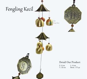 Benda Fengshui - Fengling Kecil