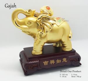 Benda Fengshui - Gajah