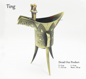 Benda Fengshui - Cawan / Ting
